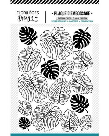 EMBOSSING FOLDER MONSTERAS