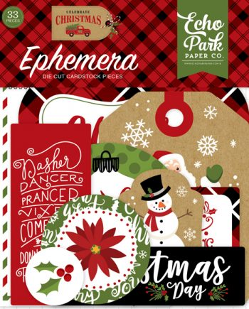 CELEBRATE CHRISTMAS EPHEMERA