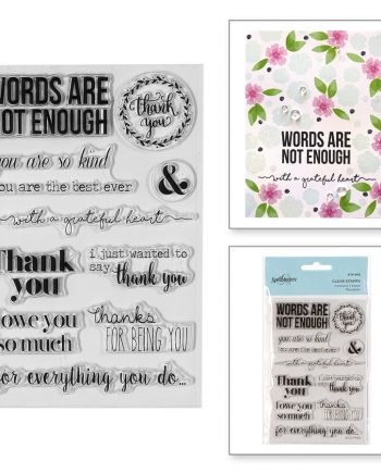 WORD ARE NOT ENOUGH