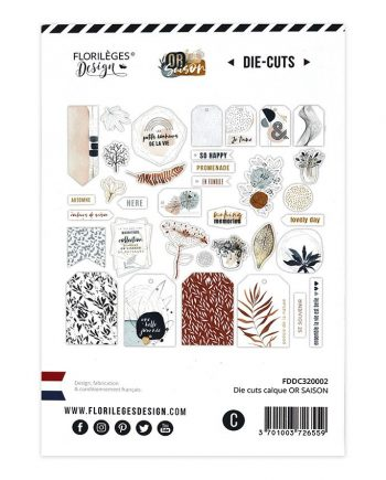DIE CUTS CALQUES