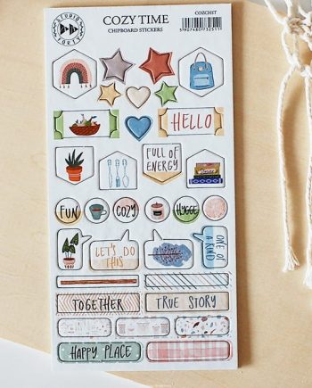 COZY TIME STICKERS